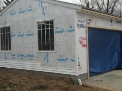 garage under renovation