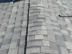 repaired roof