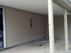 finished siding