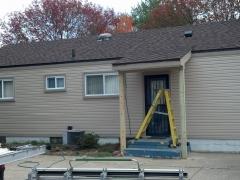 finished exterior siding